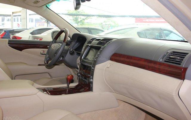 Cần bán xe Lexus LS 600HL 5.0 xăng điện 2008, màu vàng, nhập khẩu16