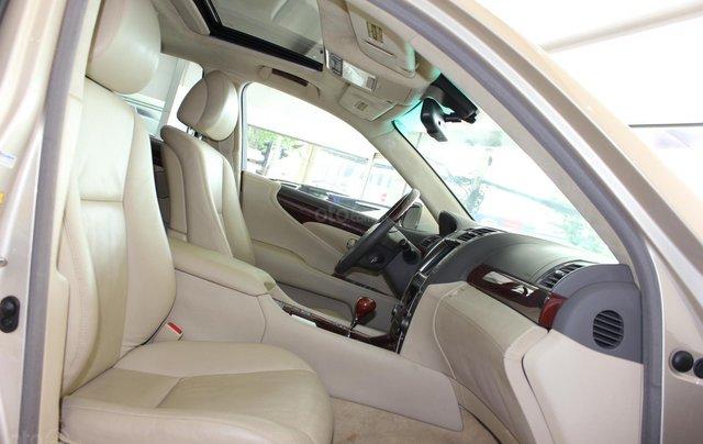 Cần bán xe Lexus LS 600HL 5.0 xăng điện 2008, màu vàng, nhập khẩu17