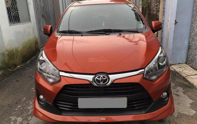 Bán Toyota Wigo tự động nhập Indo 2019 cam thể thao rất mới0