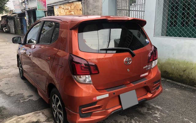 Bán Toyota Wigo tự động nhập Indo 2019, cam thể thao7