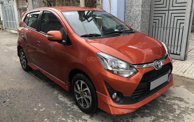 Bán Toyota Wigo tự động nhập Indo 2019, cam thể thao9