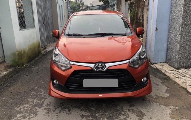 Bán Toyota Wigo tự động nhập Indo 2019, cam thể thao8
