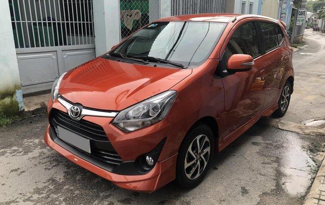 Bán Toyota Wigo tự động nhập Indo 2019, cam thể thao0
