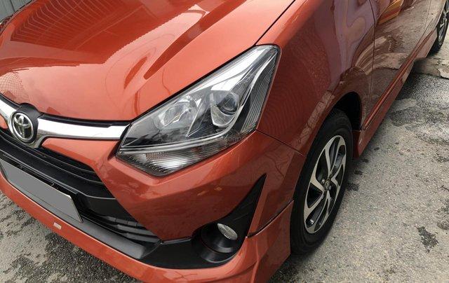 Bán Toyota Wigo tự động nhập Indo 2019, cam thể thao13