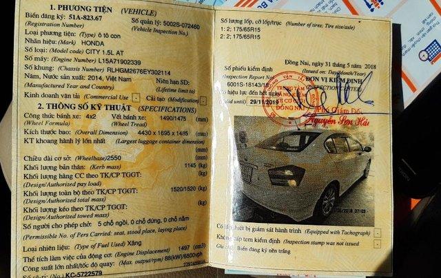 Cần bán xe Honda City 1.5G sản xuất 2014, màu trắng5