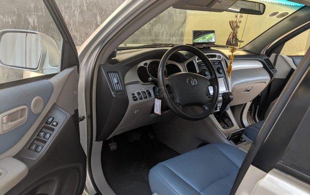 Bán Toyota Highlander 2006 3.3L V6, màu bạc, xe nhập2