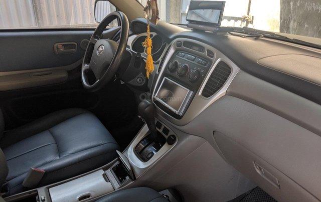 Bán Toyota Highlander 2006 3.3L V6, màu bạc, xe nhập3