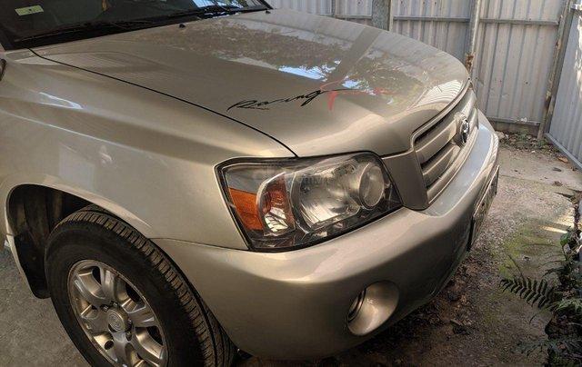 Bán Toyota Highlander 2006 3.3L V6, màu bạc, xe nhập1