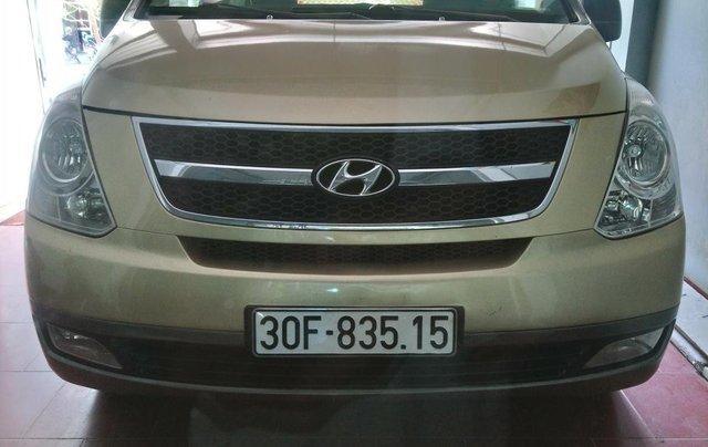 Bán Hyundai Starex MT 2.5 9 chỗ ĐK 2012, màu vàng, nhập khẩu0