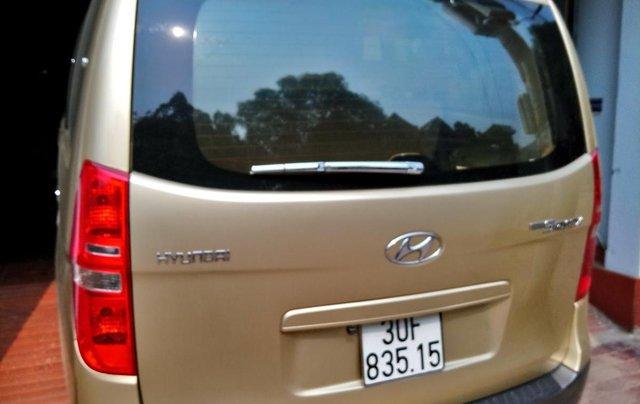 Bán Hyundai Starex MT 2.5 9 chỗ ĐK 2012, màu vàng, nhập khẩu1