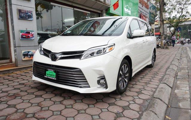 Bán Toyota Sienna Limited 1 cầu 2019, giá tốt, xe giao ngay trong ngày, LH Ms Hương 094.539.24681