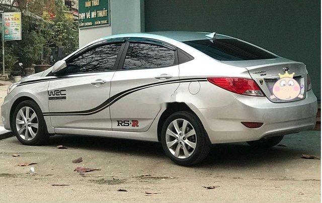 Bán Hyundai Accent đời 2015, màu bạc, nhập khẩu  0