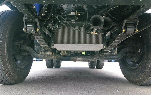 Giá siêu tốt xe ben Howo 6t5, thùng 5.2 khối10