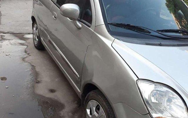 Bán Chevrolet Spark đời 2011, màu bạc, xe nhập  5