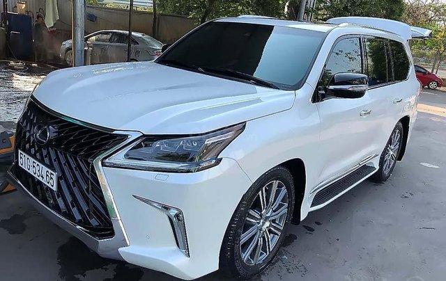 Bán xe Lexus LX 570 Super Sport sản xuất 2017, màu trắng, nhập khẩu1
