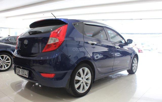 Bán Hyundai Accent 1.4 Hatchback sản xuất 2015, màu xanh lam, xe nhập4