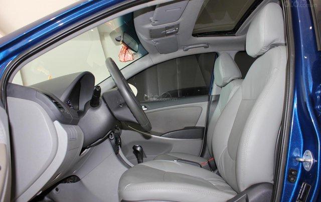 Bán Hyundai Accent 1.4 Hatchback sản xuất 2015, màu xanh lam, xe nhập8