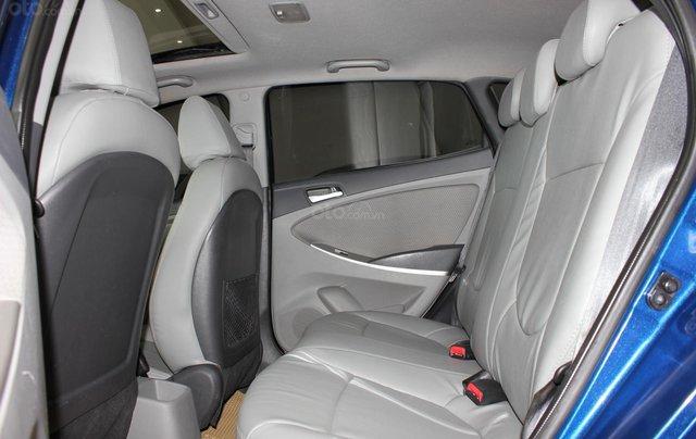 Bán Hyundai Accent 1.4 Hatchback sản xuất 2015, màu xanh lam, xe nhập10
