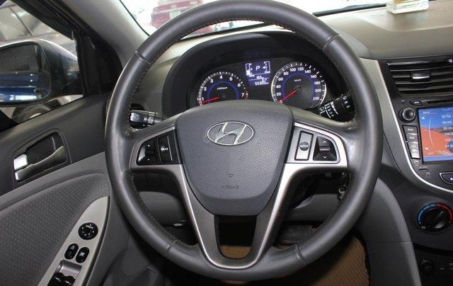 Bán Hyundai Accent 1.4 Hatchback sản xuất 2015, màu xanh lam, xe nhập11