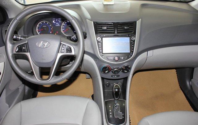 Bán Hyundai Accent 1.4 Hatchback sản xuất 2015, màu xanh lam, xe nhập12