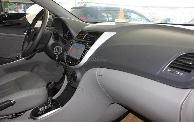 Bán Hyundai Accent 1.4 Hatchback sản xuất 2015, màu xanh lam, xe nhập13