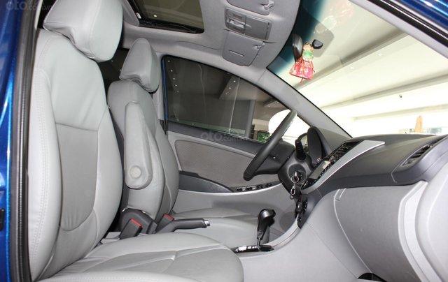 Bán Hyundai Accent 1.4 Hatchback sản xuất 2015, màu xanh lam, xe nhập14