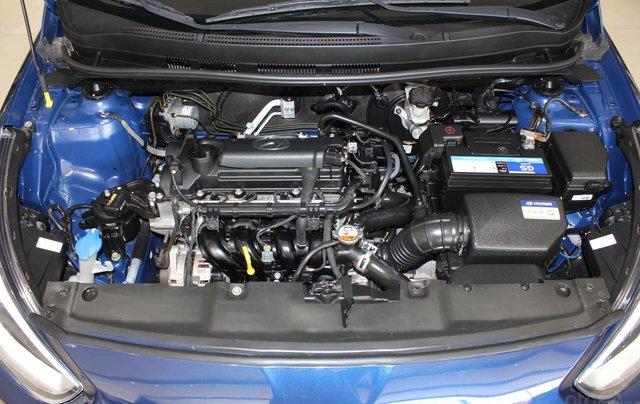 Bán Hyundai Accent 1.4 Hatchback sản xuất 2015, màu xanh lam, xe nhập15