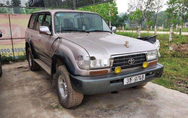Bán Toyota Land Cruiser sản xuất 1996, nhập khẩu nguyên chiếc giá cạnh tranh0