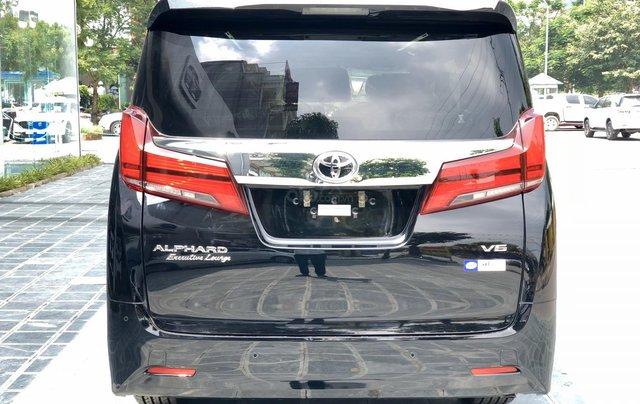 Cần bán xe Toyota Alphard 7 chỗ Executive Lounge 3.5L đời 2020, màu đen, có xe giao ngay, Hotline: 0914.868.1986
