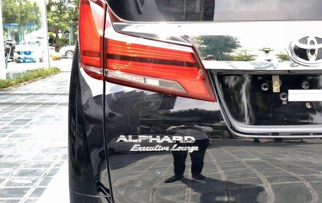 Cần bán xe Toyota Alphard 7 chỗ Executive Lounge 3.5L đời 2020, màu đen, có xe giao ngay, Hotline: 0914.868.1987