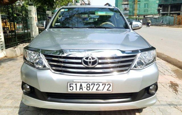 Bán xe Toyota Fortuner V. 2.7 máy xăng T6/2014, liên hệ: 0913715808 - 0942892465 Thanh0