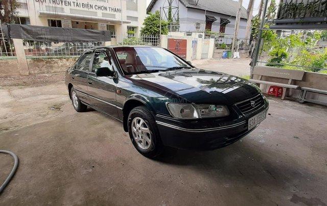 Cần bán Toyota Camry đăng ký 1999, màu xanh dưa chỉnh chủ giá 240 triệu đồng10