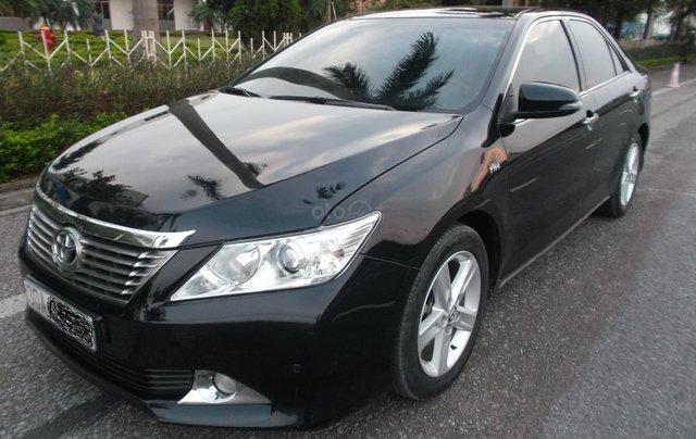 Bán xe Toyota Camry 2.5Q sản xuất năm 2014, màu đen, giá chỉ 838 triệu0
