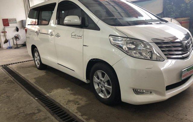 Bán Toyota Alphard sản xuất năm 2010, màu trắng, nhập khẩu nguyên chiếc11