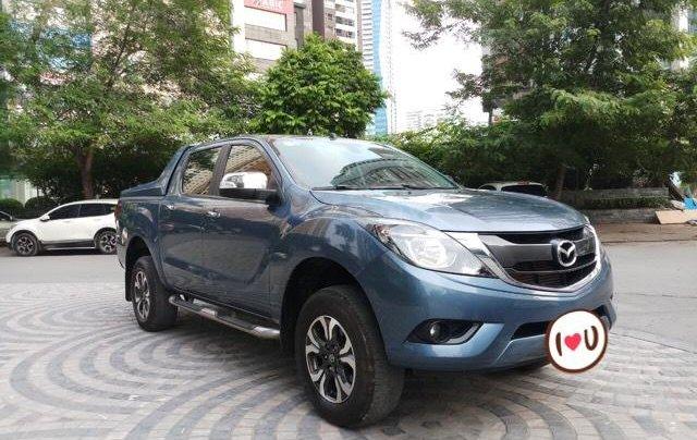 Ô Tô Thủ Đô bán xe Mazda BT50 2.2AT 2017, màu xanh, giá 529 triệu0