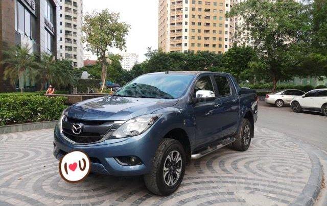 Ô Tô Thủ Đô bán xe Mazda BT50 2.2AT 2017, màu xanh, giá 529 triệu1