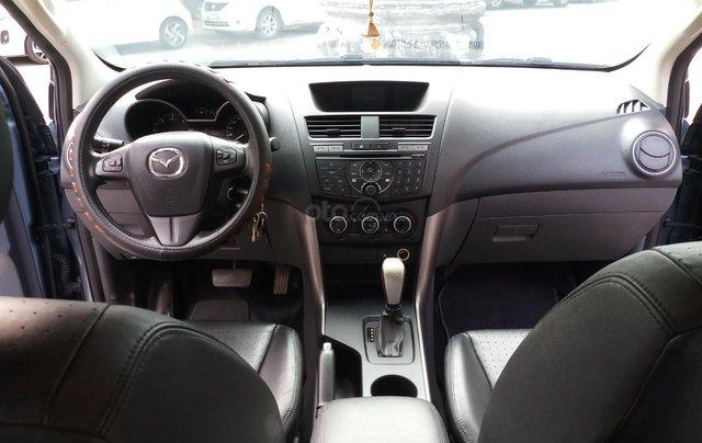 Ô Tô Thủ Đô bán xe Mazda BT50 2.2AT 2017, màu xanh, giá 529 triệu5