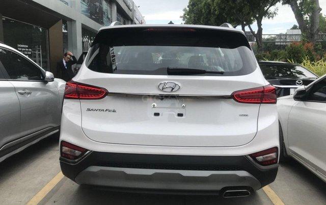 Hyundai Santa Fe 2.4AT đặc biệt sản xuất năm 2019, màu trắng2