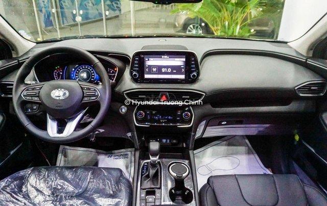 Hyundai Santa Fe 2.4AT đặc biệt sản xuất năm 2019, màu trắng3