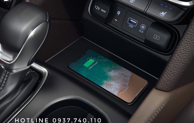 Hyundai Santa Fe 2.4AT đặc biệt sản xuất năm 2019, màu trắng4