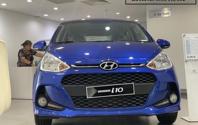 Hyundai Grand I10 Hatchback xe đủ màu giao ngay, tặng bộ phụ kiện kinh doanh cao cấp, hỗ trợ đăng ký grab0