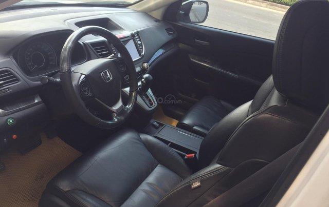 Cần bán xe Honda CR V 2.4 đời 2014, màu trắng5