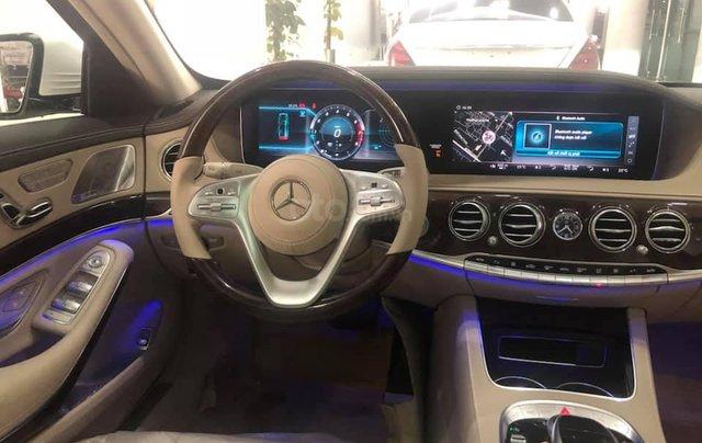 Bán Mercedes S450 màu xanh cavansite, nội thất kem 20193