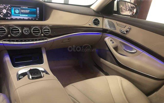 Bán Mercedes S450 màu xanh cavansite, nội thất kem 20194