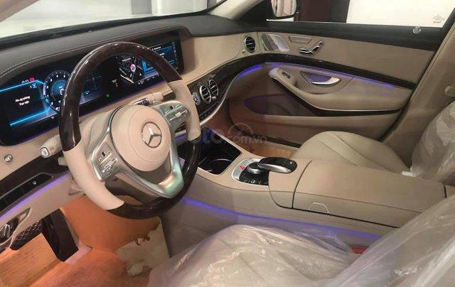 Bán Mercedes S450 màu xanh cavansite, nội thất kem 20195