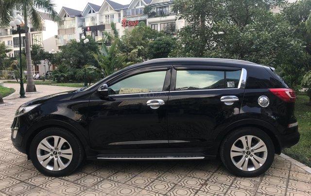 Bán ô tô Kia Sportage Limited 2.0 AT năm 2011, màu đen0