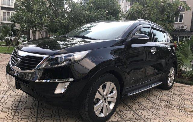 Bán ô tô Kia Sportage Limited 2.0 AT năm 2011, màu đen5