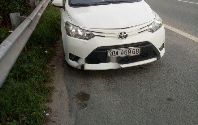 Cần tiền bán Toyota Vios năm sản xuất 2014, màu trắng0