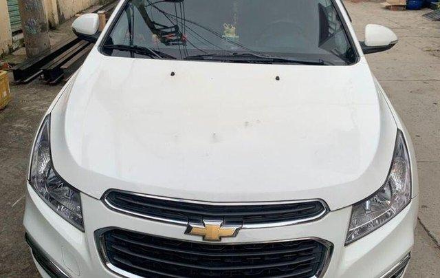 Chính chủ bán Chevrolet Cruze LTZ 1.8AT đời 2015, màu trắng0