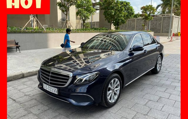 Bán xe Mercedes E200 đăng kí 2018 còn bảo hành chính hãng. Trả trước 500 triệu nhận xe ngay0